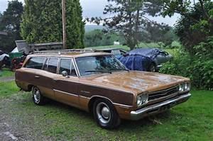 1969 Plymouth Satellite Sport Wagon Road Runner Mopar