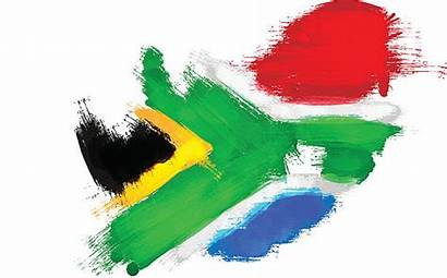 Africa South Vector African Flag Map Clip