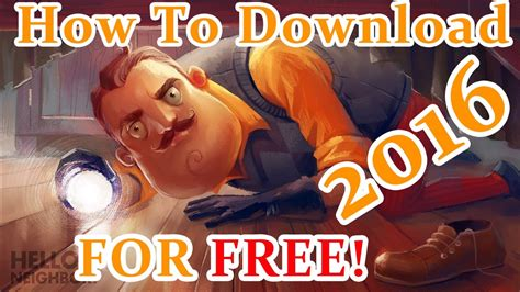 how to hello neighbor best horror free