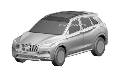 2018 Infiniti Qx50 Revealed In New Patent Photos Carscoops