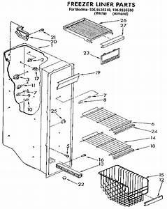 Kenmore Refrigerator 106 9535580 Wiring Diagram