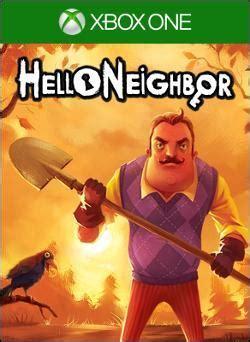 hello neighbor xbox one profile xboxaddict