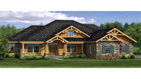contemporary craftsman house plans craftsman house plans with walkout basement modern