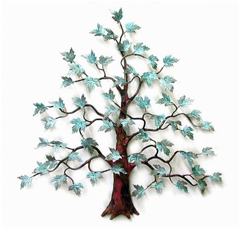 wall art magnificent maple tree metal wall sculpture