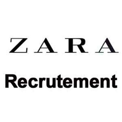zara recrutement espace recrutement