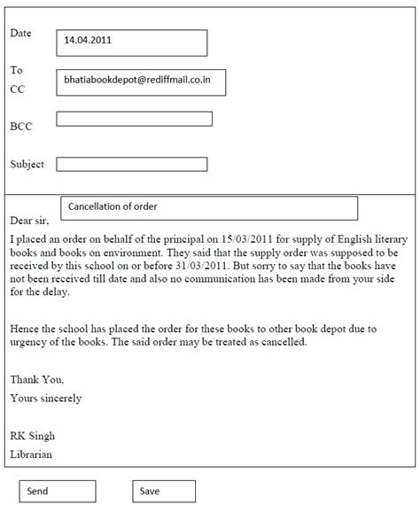 writing a letter cbse class x support material writing letter 8380
