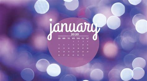 january  wallpaper calendar