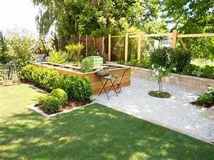 Gartengestaltung Mit Holz : gartengestaltung mit hochbeet stein amp holz schubert amp partner gartengestaltungs gmbh ~ Watch28wear.com Haus und Dekorationen