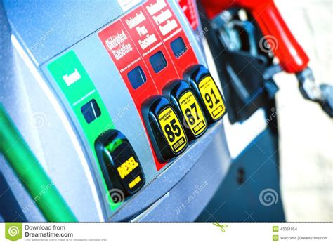 Gas Station Pump Stock Photo. Image Of Energy, Hose