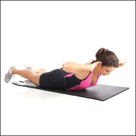 Floor Lowers Fast exercise demo back extension