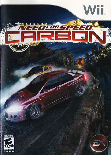need for speed wii need for speed carbon 2006 wii box cover mobygames