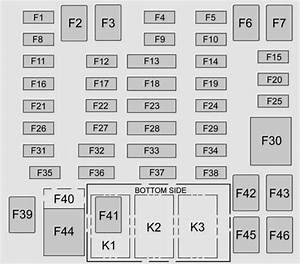 Chevrolet Colorado  2015 - 2016  - Fuse Box Diagram