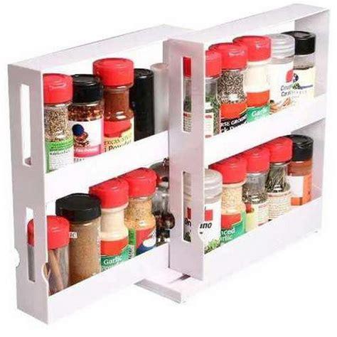 spice rack organizer for cabinet 2 tier spice rack cabinet holder shelf kitchen organizer