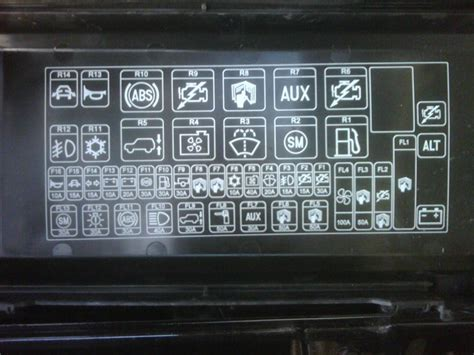 Land Rover Fuse Box Location by Engine Compartment Fuse R14 Land Rover Forums Land