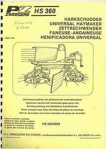 Pz Zweegers Haybob Tedder Universal Haymaker Hs360