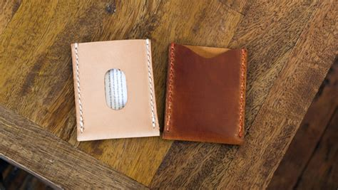 leather templates basic leather card sleeve template build along tutorial makesupply