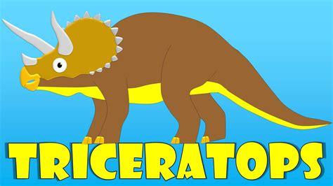 Dinosaurios Para Niños El Triceratops  El Triceratops
