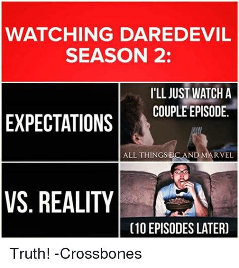 Daredevil Meme - vs season ill just episode watch marvel a dc and couple 2 daredevil all things watching