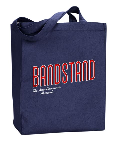 The broadway musical on screen. Bandstand the New American Broadway Musical Tote Bag - Bandstand | PlaybillStore.com