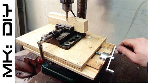 mk diy milling table  drill press tutorial youtube
