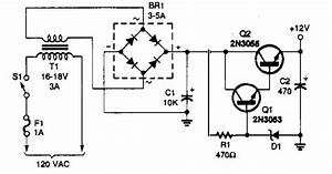 12v Power Supply Circuit