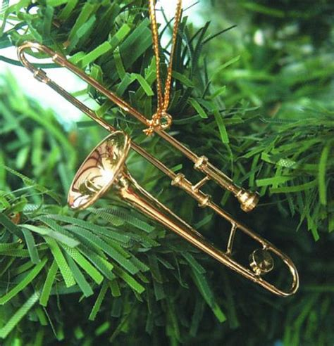trombone christmas ornament buy ornament gift ornaments