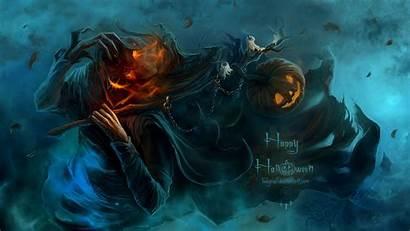 Halloween Backgrounds Scary Scarecrow Wallpapers Desktop Creepy
