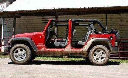 jeep wrangler unlimited sport top off 2010 jeep wrangler unlimited sport review car and driver