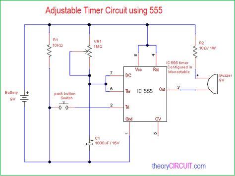 Adjustable Timer Circuit Using