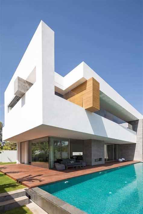 desain kontemporer rumah mewah lantai arsitektur arsitekturme