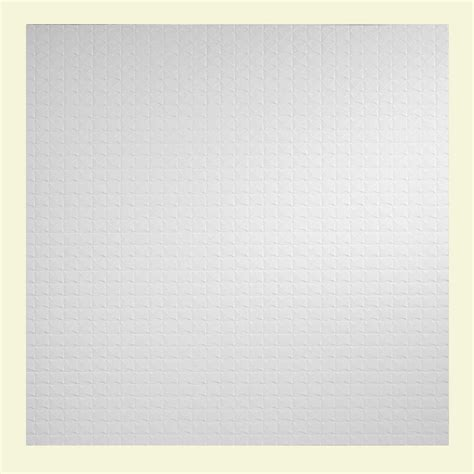 Genesis Ceiling Tiles Home Depot by Genesis 2 Ft X 2 Ft Classic Pro Lay In Ceiling Tile 750