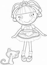 Lalaloopsy Coloring Jewel Sparkles Thats Perfectly Say Perfect sketch template