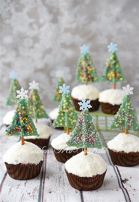 schoko tannenbaum muffins rezept