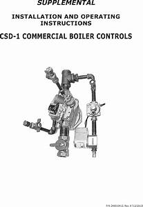 Utica Boilers Je Operation And Installation Manual