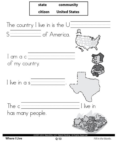 social studies worksheets for 1st grade worksheets for all
