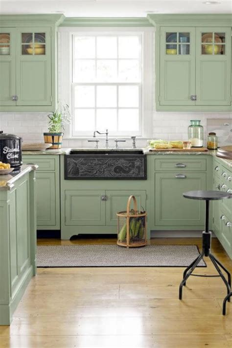 green and kitchen ideas 15 green kitchen cabinets design photos ideas inspiration