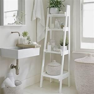 echelle salle de bain etagere ou porte serviettes en 20 With salle de bain design avec étagère décorative métal