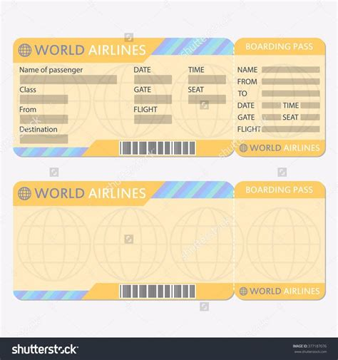 free printable airline ticket template 25 best ideas about ticket template on ticket template free printable tickets and