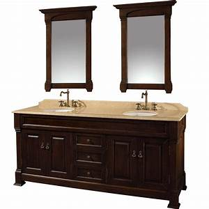 72quot andover 72 dark cherry bathroom vanity bathroom With where to buy a bathroom vanity