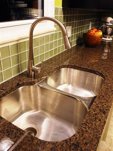 granite countertop with sink different materials for kitchen sinks granite countertop