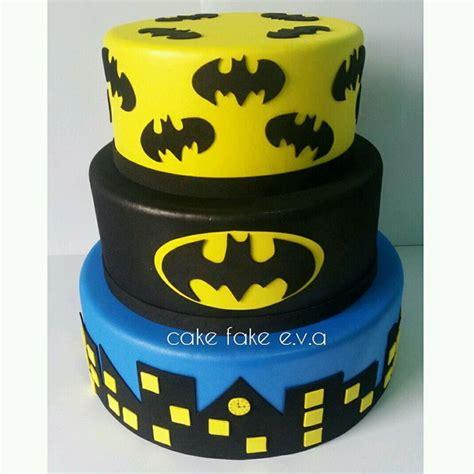 bolo fake batman no elo7 cake fake e v a a97607
