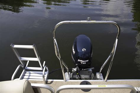 Deck Boat Tow Bar ski tow bar on every boat sweetwater premium pontoon