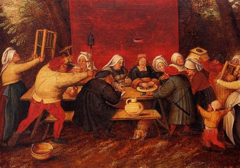 banchetti medievali index of b bruegel pieter il giovane