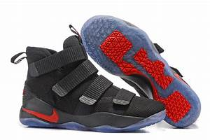 2017 Nike LeBron Soldier 11 Black Red For Sale – Hoop Jordan