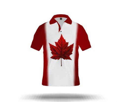 canada flag polo shirts maple leaf sportswear