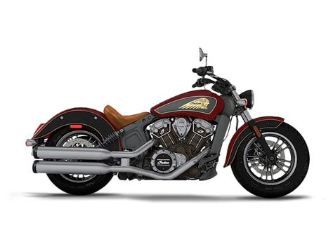 2017 Indian Motorcycle® Scout® Abs Indian Motorcycle® Red