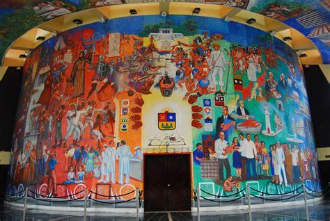 si鑒e mural soñando en estéreo cayendo al abismo sónico quot forma color e historia de quintana roo quot mural en el interior edificio congreso