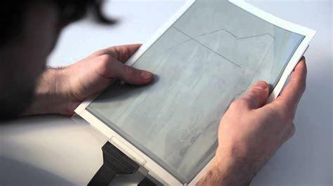 papertab revolutionary paper tablet reveals future