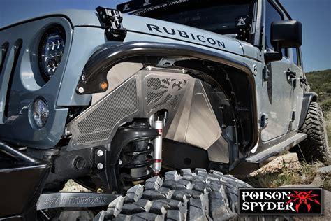 poison spyder jeep jk front  fender kit vented