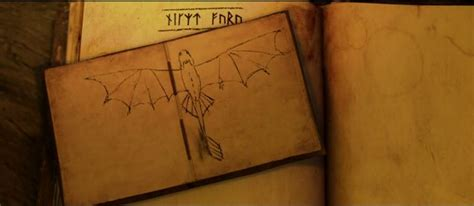 Hiccup's Drawings And Inventions